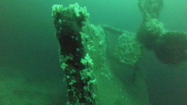 HMS Hampshire: First pictures emerge of the wreckage.