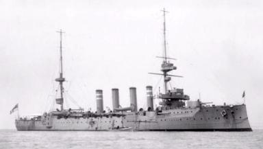 Warship: The loss came shortly after the Battle of Jutland.