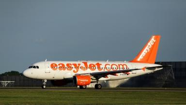 The plane had to divert to Newcastle.