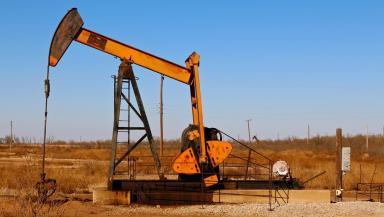 America: Oil pumpjack outside Alexa, Texas (file pic).