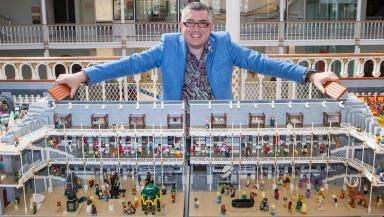 Build it: Warren Elsmore made a model of the National Museum of Scotland.