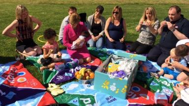 'Baby box': Pilot scheme launched in Clackmannanshire.