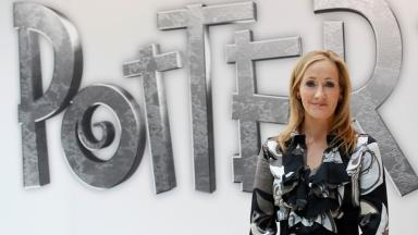 Writer: Harry Potter author JK Rowling.