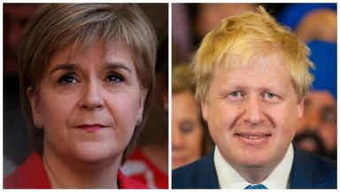 Debate: Nicola Sturgeon and Boris Johnson will appear in the TV debate.