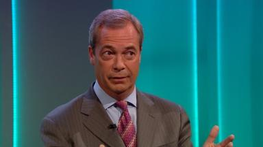 Nigel Farage's Brexit Party is expected to perform well.
