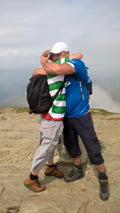 The pair have raised hundreds for charity after their challenge went viral.