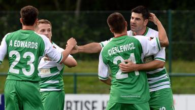 Welsh champions The New Saints