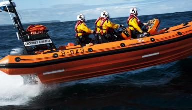 RNLI: Lifesaving equipment taken from station (file pic).