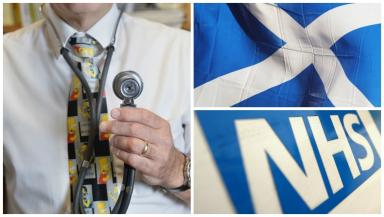 Doctors: The statistics show Scotland has the best GP to person ratio in the UK.