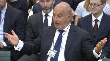 Sir Philip Green struck 'gagging' deals with employees.
