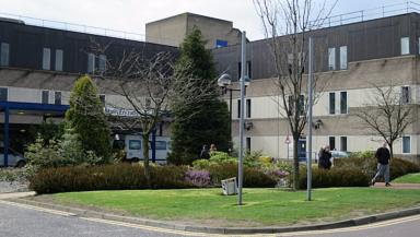 St John's Hospital in Livingston.