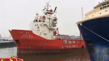 Malaviya Seven: The ship had been detained in Aberdeen harbour.