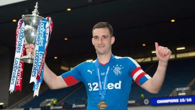 Wallace: Captained Rangers to Premiership promotion.