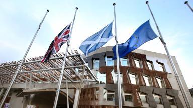 Scottish Parliament: Presiding officer heard complaints of MSPs.