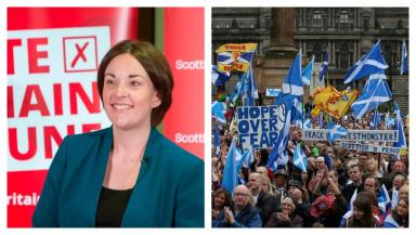 Kezia Dugdale: Scottish Labour wants the country to back federalism over independence.