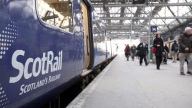 ScotRail: Almost half a million seats on services were not provided (file pic).