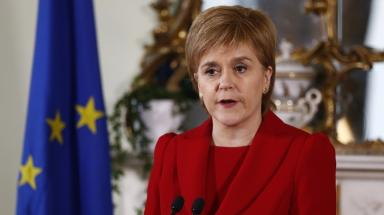 Sturgeon: Scotland blocked from paying £65 fees.