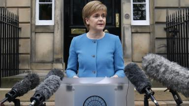 Brexit: Nicola Sturgeon has said a second indyref is 'on the table' (file pic)