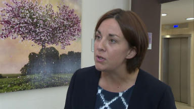 Dugdale: Former Scottish Labour leader doubts Corbyn's chances.