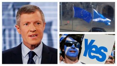 Willie Rennie: The Lib Dem said support for independence is at a record high.