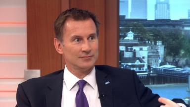 Jeremy Hunt: Foreign secretary also controversially served as health secretary.