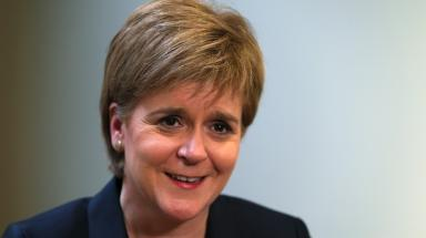 Nicola Sturgeon: Will speak at European Policy Centre (file pic).