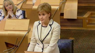 Sturgeon: Will face questions from children.