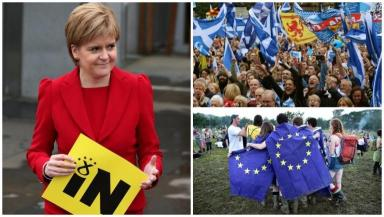 Brexit: The academics say Scotland could join the EU within three years of independence.