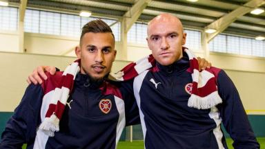 Faycal Rherras and Conor Sammon were early signings for Robbie Neilson