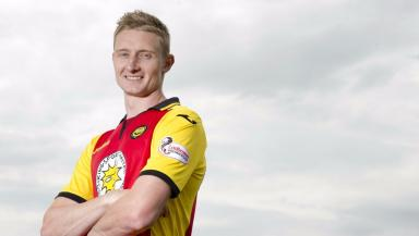 Chris Erskine is back for a third spell at Firhill