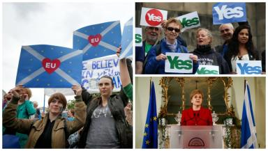 Indyref2: Nicola Sturgeon said vote 'highly likely' after Brexit.