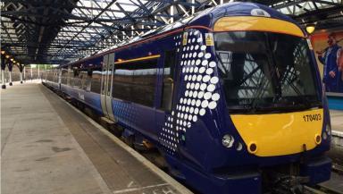 The incident happened in Edinburgh.