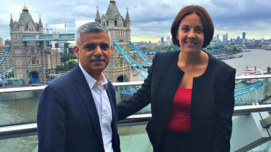 Labour: Sadiq Khan will introduce Scottish Labour leader Kezia Dugdale to party delegates.