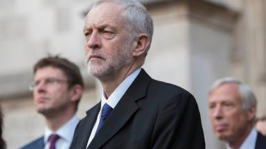 Corbyn: Facing pressure over Brexit stance (file pic).