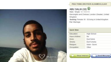 The dating profile set up by Alexander Kotey.
