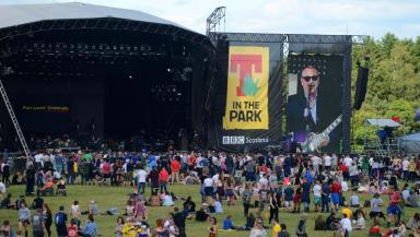 Main stage: T in the Park is at Strathallan Estate for a second year.