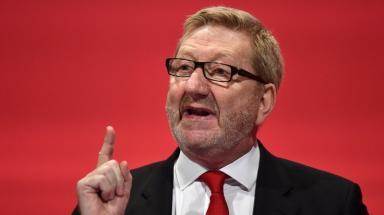 Unite: Len McCluskey said Richard Leonard would 'speak for workers'.
