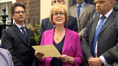 Andrea Leadsom: She briefly ran against Theresa May back in 2016.