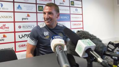 Celtic's Brendan Rodgers speaks ahead of the Champions League qualifier in Gibraltar.