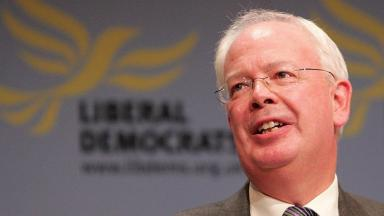 Jim Wallace: The former MP and MSP has resigned as Lib Dem leader in the Lords.