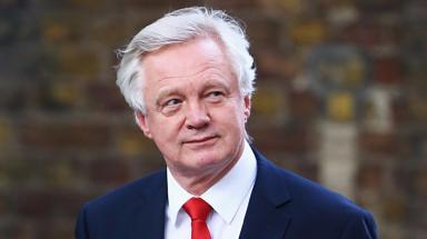 David Davis: Brexit secretary 'violated rules' (file pic).