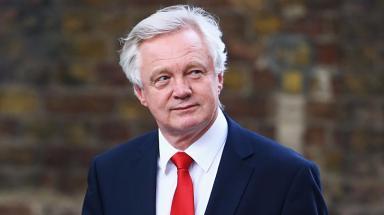 David Davis: Resigned over Brexit policy.