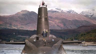 Trident: Scottish Government want to scrap the 'deterrent'.