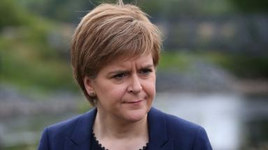 Nicola Sturgeon: Urged residents to report concerns to police.
