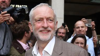Jeremy Corbyn: The UK Labour leader says he would be 'fine' with another referendum.