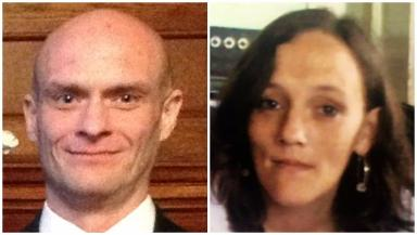 Murdered: Victims Keith Taylor and Tracy Gabriel.