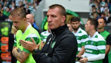 Preparation: Celtic drew 1-1 with Leicester City.