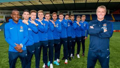 Lee Clark: Ex-Killie boss with 11 new signings.