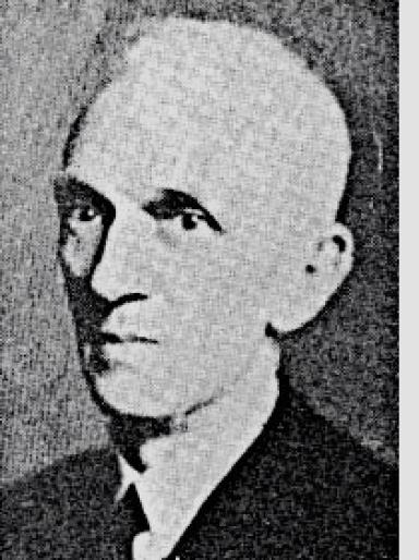 Godfrey Thomson: Pictured in 1925.