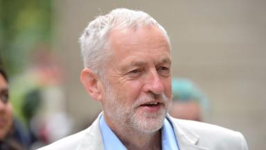 Jeremy Corbyn: Called for end to austerity (file pic).